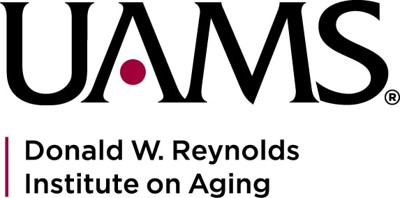 This image has an empty alt attribute; its file name is Logo-UAMS-Reynolds-Inst-stacked.jpg